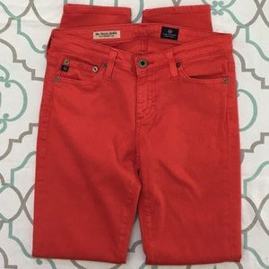 """Ag Adriano Goldschmied Jeans - ❤️👖AWESOME! AG STEVIE ANKLE👖❤️25(0) 27.75"""" EEUC!"""